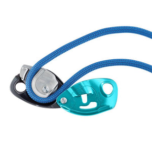 PETZL GRIGRI® - ASSISTED BELAY DEVICE - BLUE