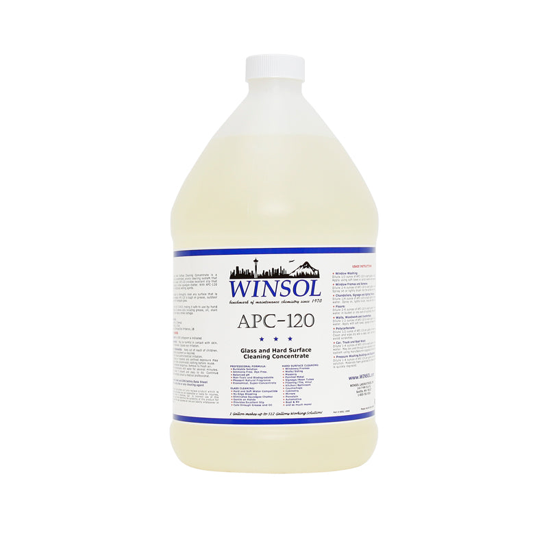 WINSOL WINDOWS-120 WINDOW CLEANING CONCENTRATE