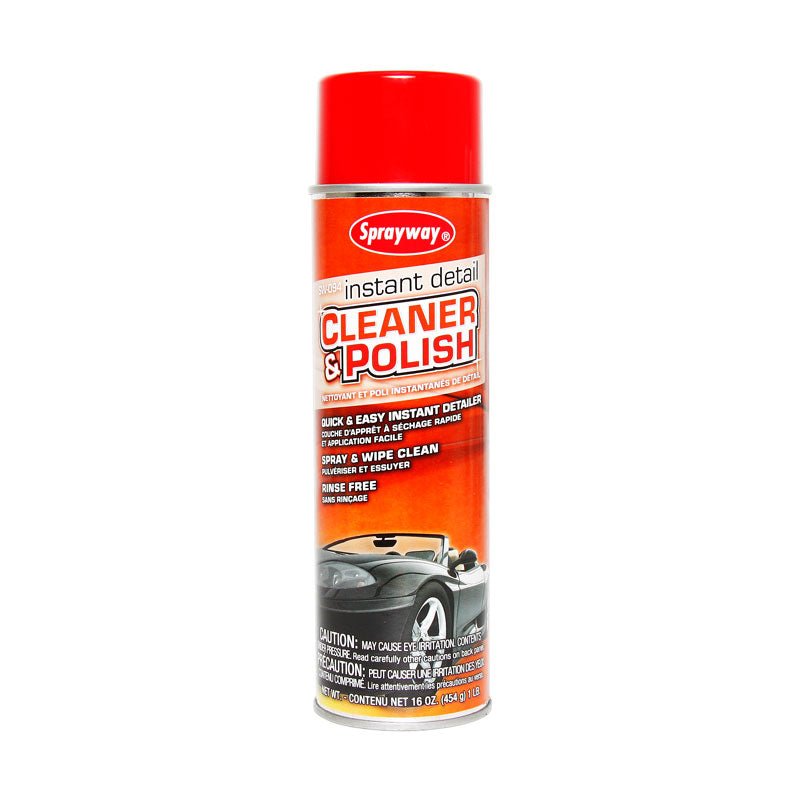 Sprayway Instant Detail Automotive Cleaner And Polish