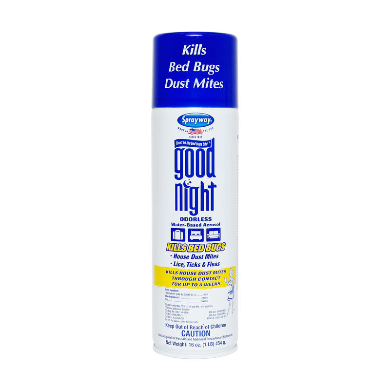 Sprayway Good Night Bed Bug And Dust Mite Killer