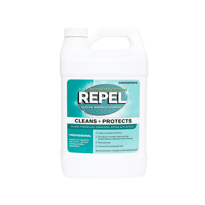Repel Glass Cleaner And Repellent Concentrate