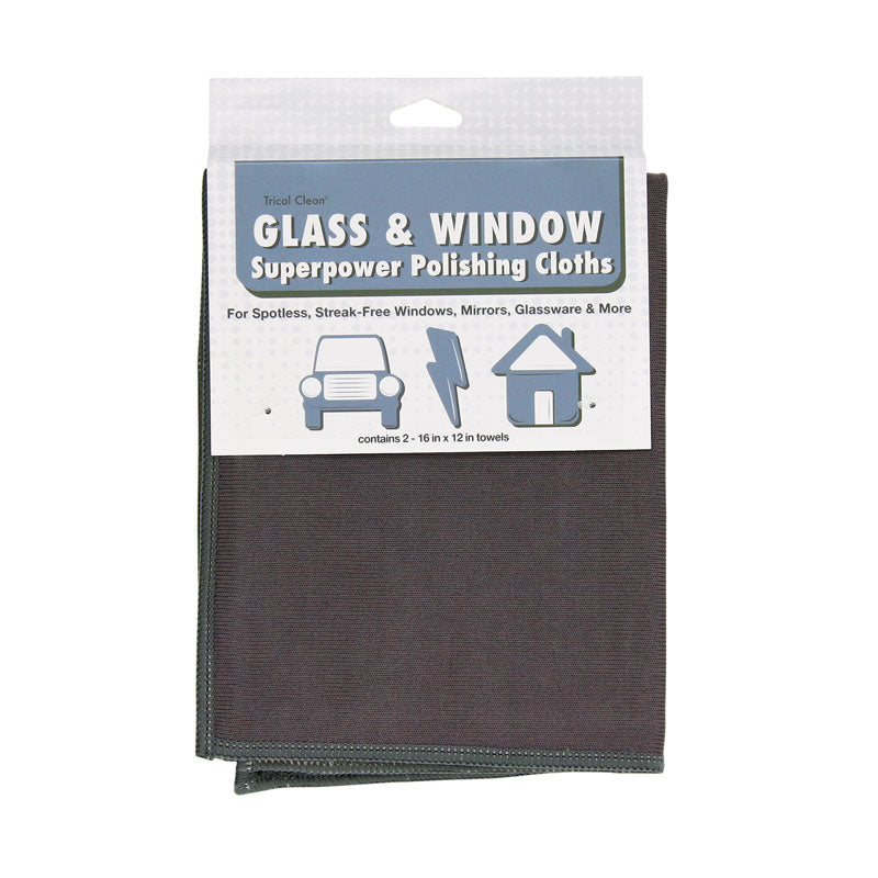 Tricol Clean Glass And Window Superpower Polishing Cloth