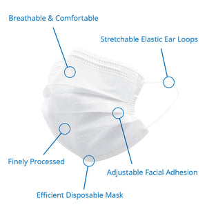 10 Diposable Face Mask (Non-Medical)