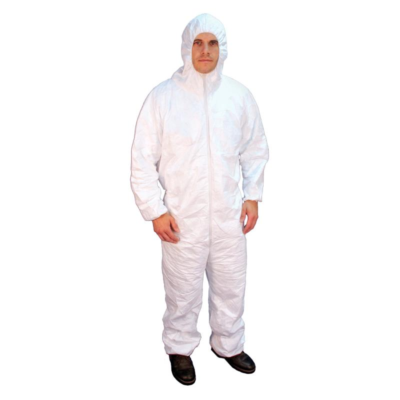 3-Layer SMS Coveralls Hooded