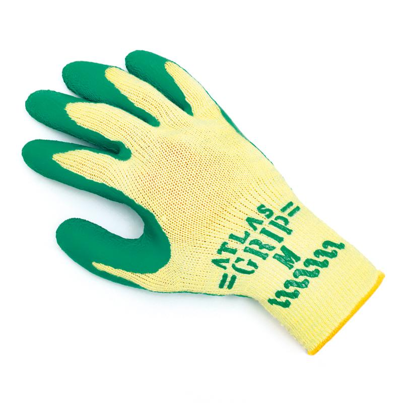 Showa Atlas 310 Green Grip Latex Palm  Glove
