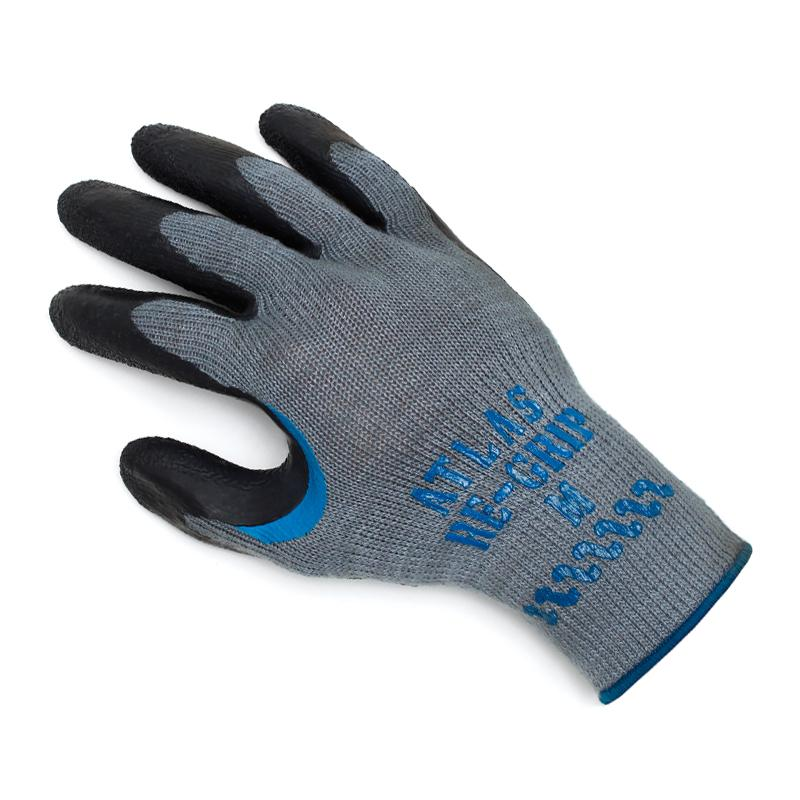 Showa Atlas 330 Re-Grip Black Latex Palm Glove