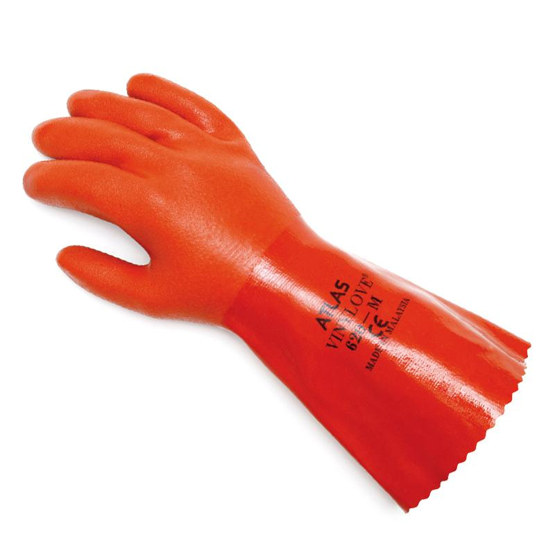 Showa Atlas 620 Vinylove Double Dipped Chemical Resist Gloves