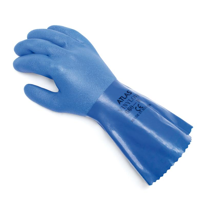 Showa Atlas 660 Vinylove Triple Dipped Oil And Chemical Resistant Gloves