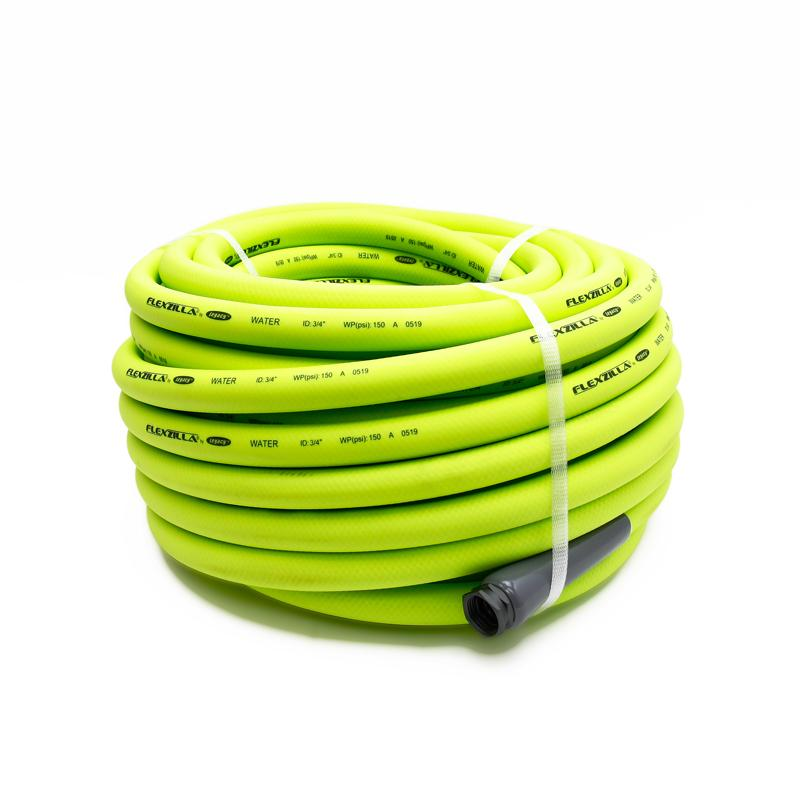 Flexzilla 3/4in 100ft Zillagreen Hose w/3/4in GHT