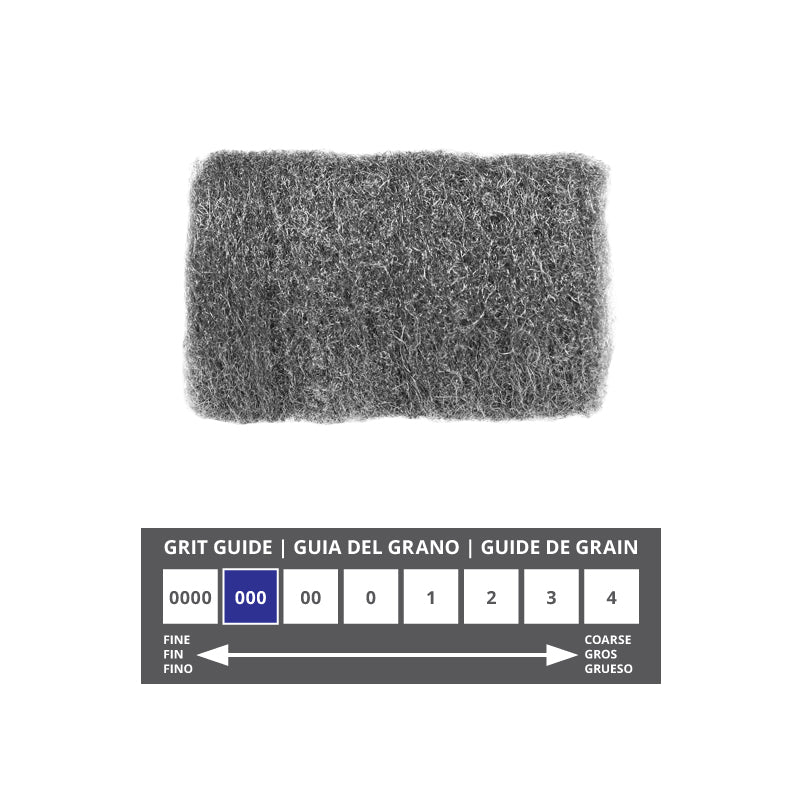 GMT 000 Steel Wool 16 Pads
