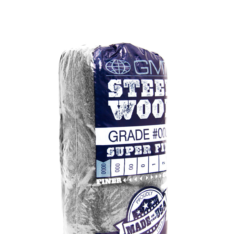 GMT 0000 Steel Wool 16 Pads