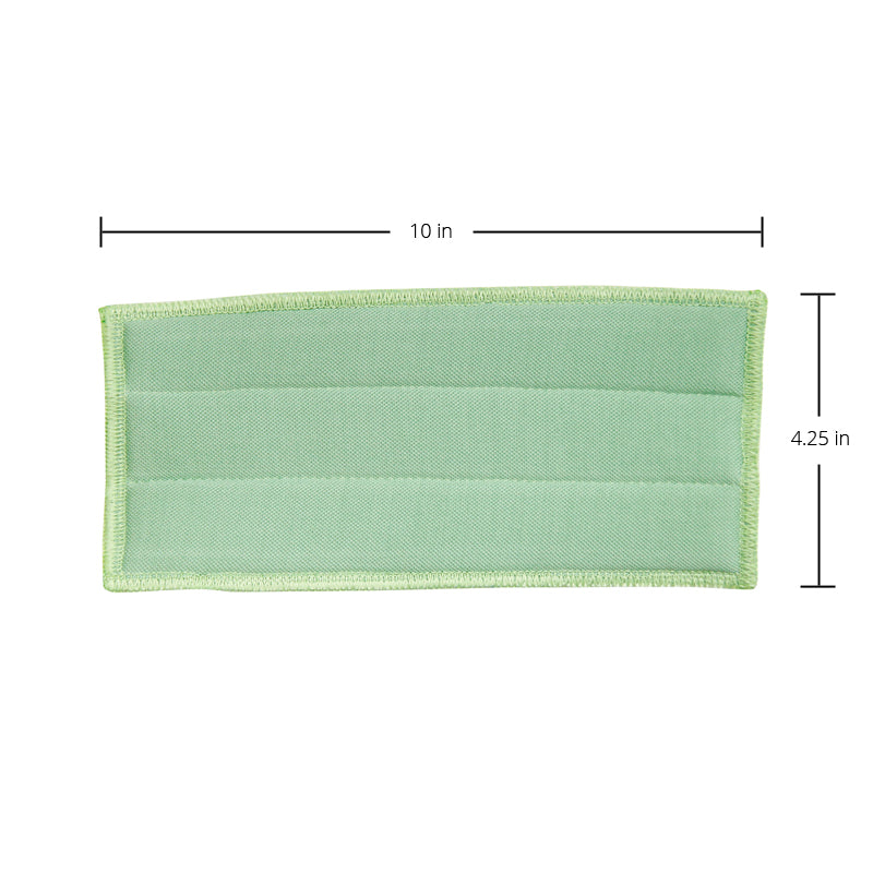 IPC Pulex Glass Pad 10in/25cm Green Microfiber