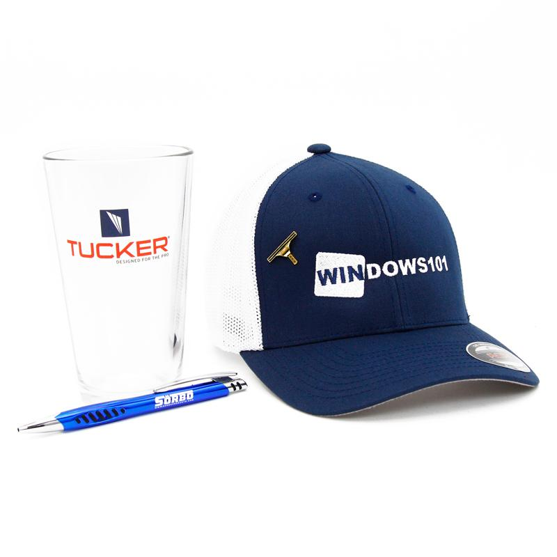 Tucker Glass, Windows101 Hat, Ettore Pin And Sorbo Pen