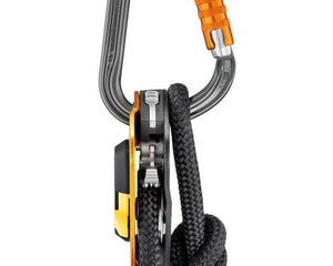 Petzl William D Carabiner, Triact-Lock Aluminum 25kN