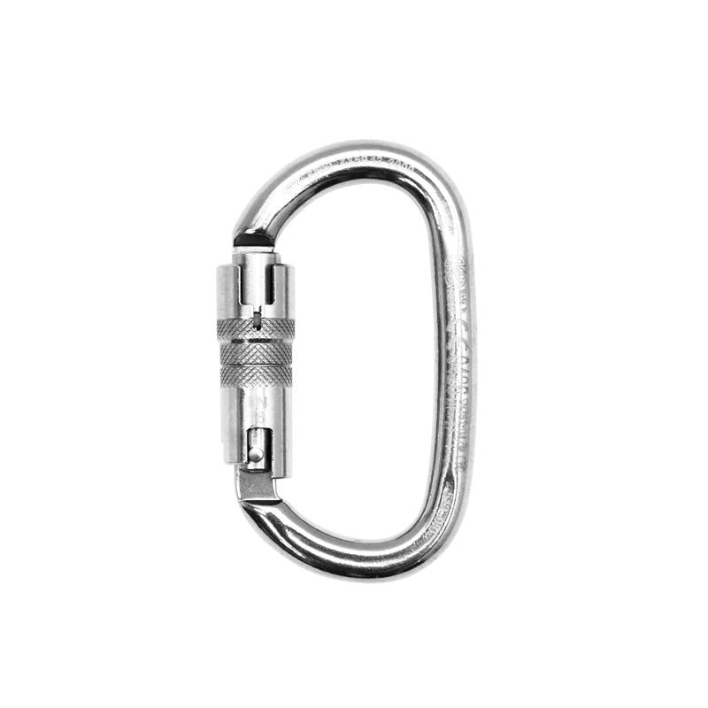 Kong Ovalone ANSI/NFPA Stainless Steel Oval Twist-Lock 40kN Carabiner