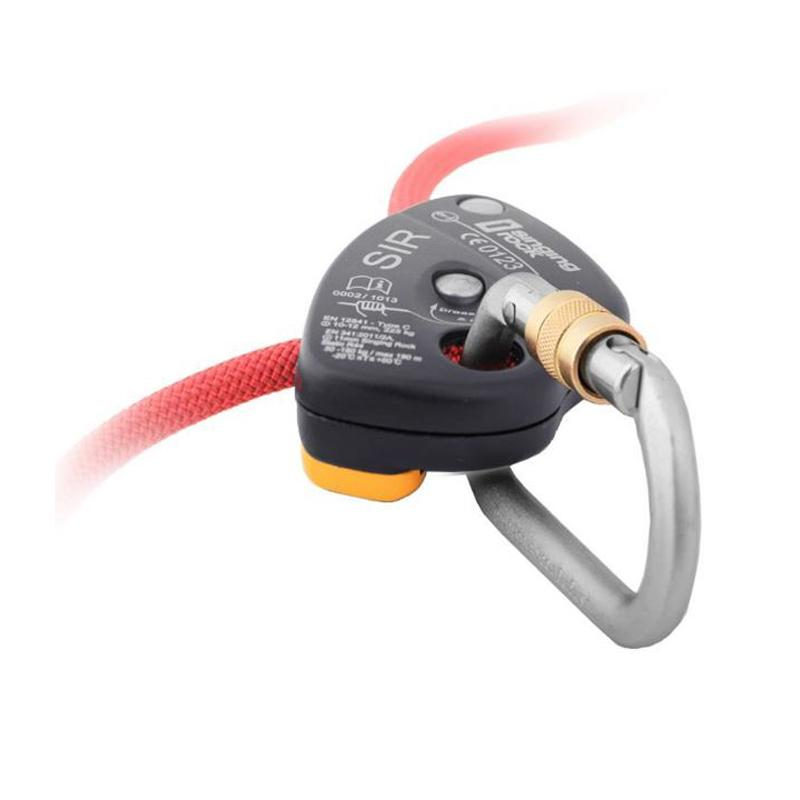 SR SIR / K032SIR00 SELF-BREAKING BELAY & DESCENDER DEVICE