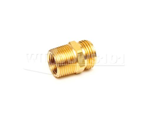 "BRASS 3/4"" MALE PIPE THREAD to 3/4"" MALE HOSE THREAD"