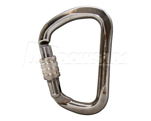 Kong XL Stainless Steel Screw Gate Locking 35kN Carabiner