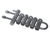 MIO Rappel Rack RR-2S 6 Stainless Steel Bars