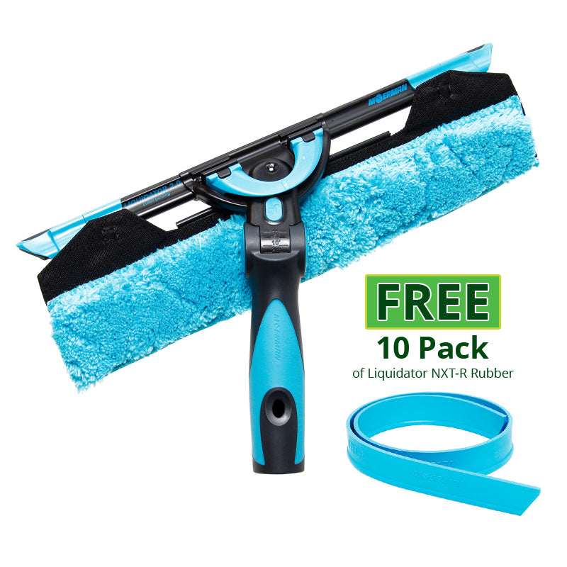Moerman F*LIQ Excelerator 2.0 Squeegee GET a Free 10 Pack of Liquidator NXT-R Rubber