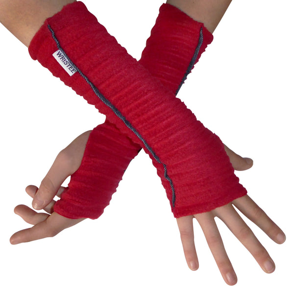 Denim Twisty Wristee® - Red - wristies