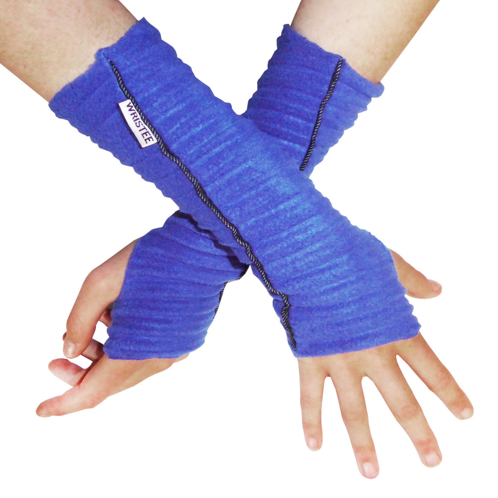 Denim Twisty Wristee® - Royal blue - annafalcke.com