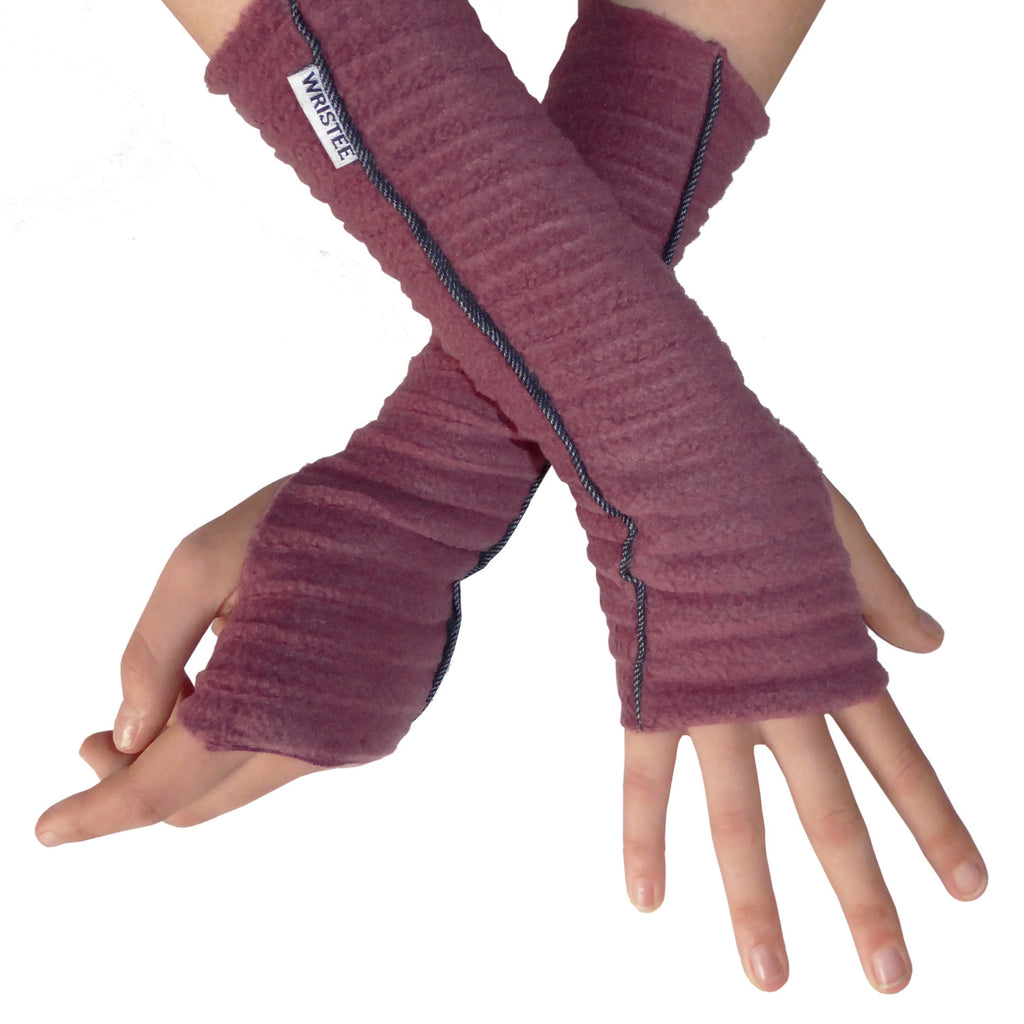 Denim Twisty Wristee® - Raspberry - wristies