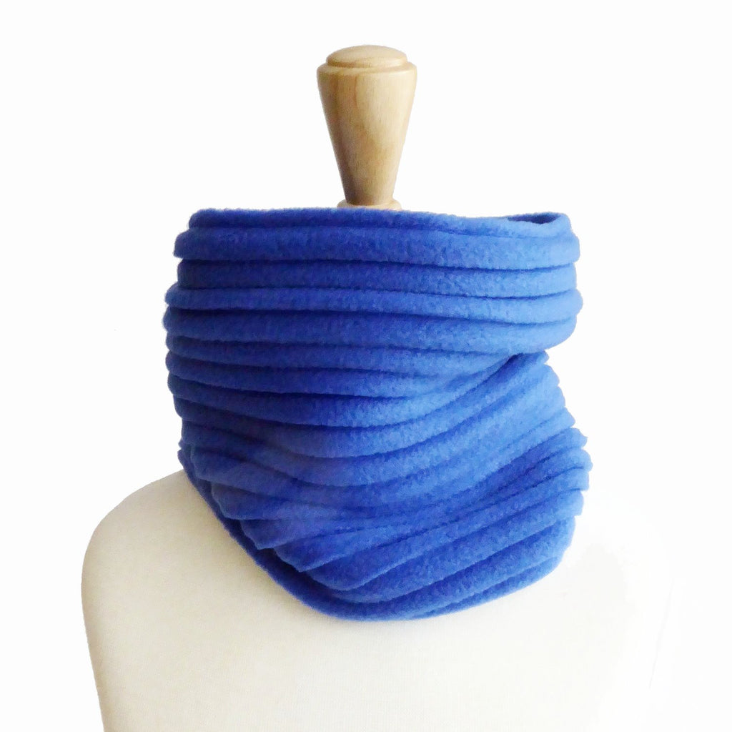 Children's Snood - Royal blue - wristies