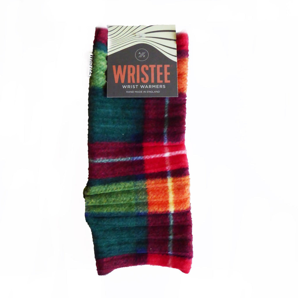Wristees® for Men - Green Check - annafalcke.com