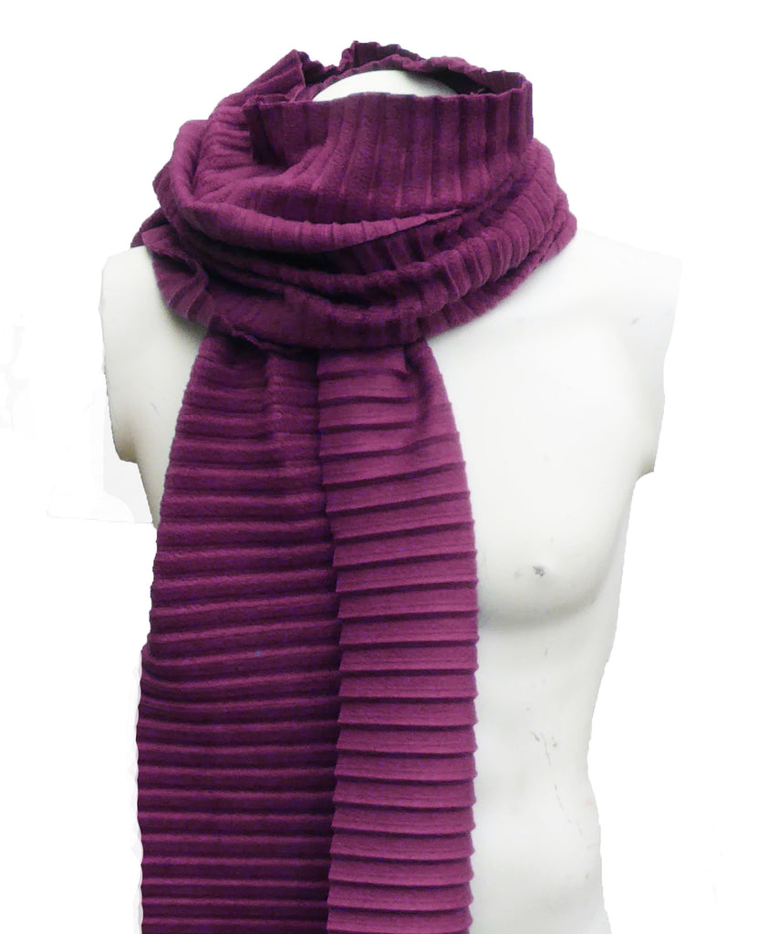Copy of Pleated scarf - Teal - annafalcke.com