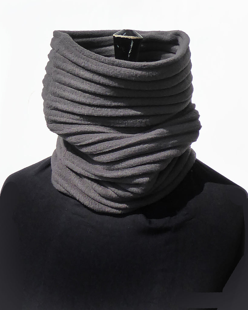 Snood - Charcoal - annafalcke.com