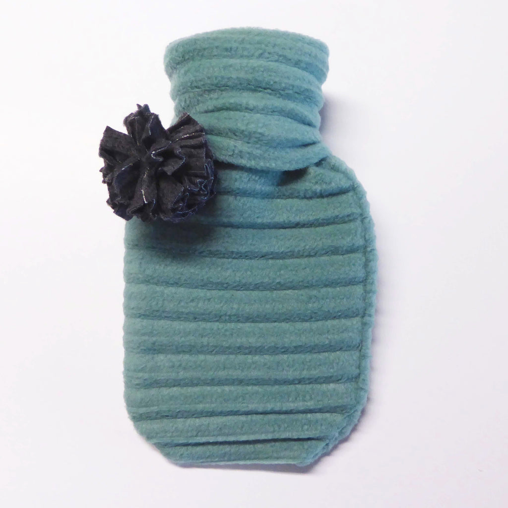 Hot water bottle - Duckegg blue - wristies