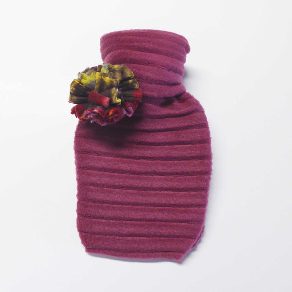 Hot water bottle - Raspberry