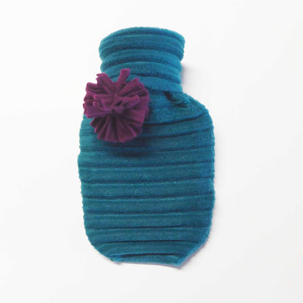 Hot water bottle - Teal