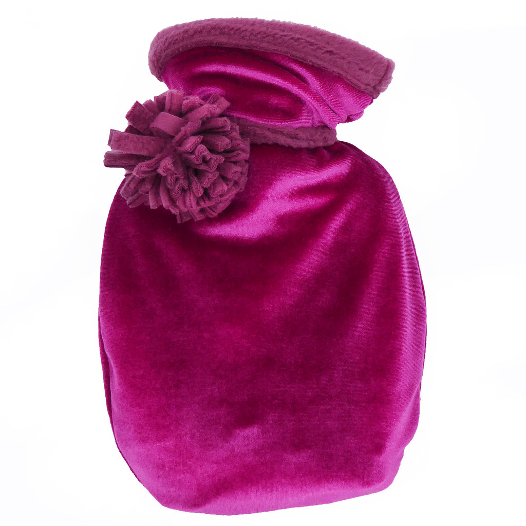 Mini velvet hottie - Cerise pink