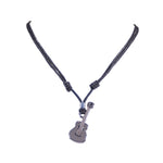 Load image into Gallery viewer, Guitar Pendant on Adjustable Rope Necklace