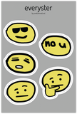 Everyster Sticker Sheet