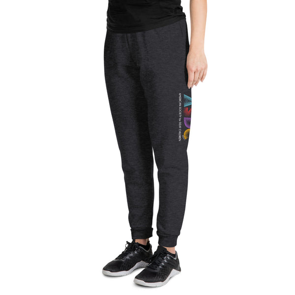 ASDC Unisex Joggers - Heather Black