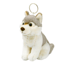 Load image into Gallery viewer, Arctic Wolf Keychain - 10cm