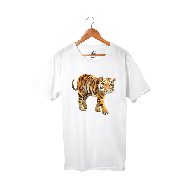 Geometric Tiger T-Shirt
