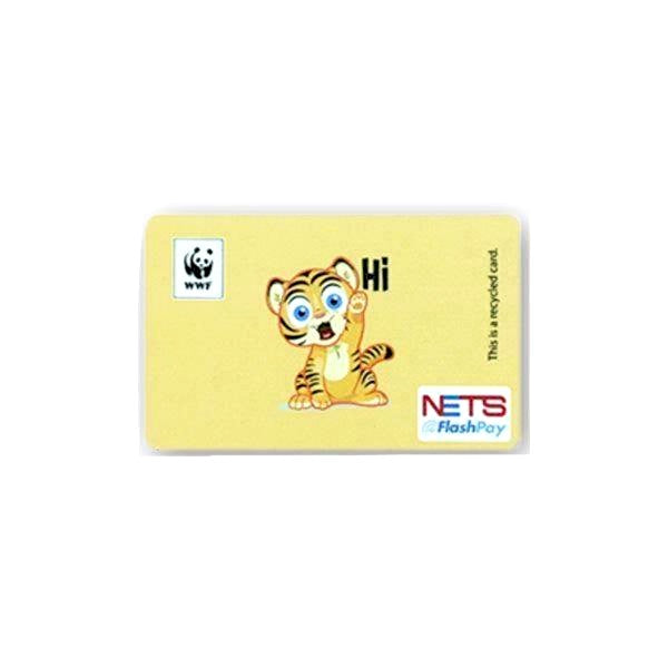 WWF Recycled NETS Flashpay Card