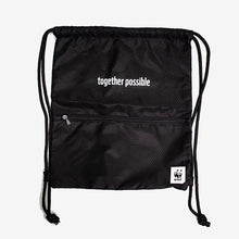 Load image into Gallery viewer, WWF Together Possible Drawstring Bag