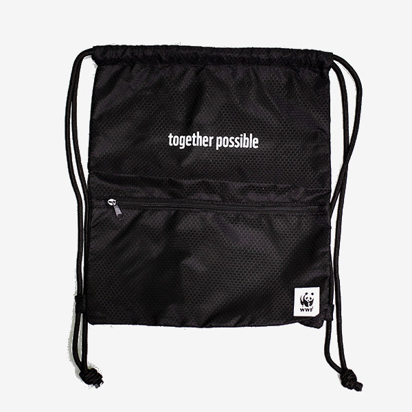 WWF Together Possible Drawstring Bag