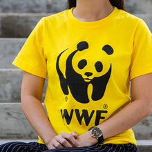 Load image into Gallery viewer, WWF Yellow T-Shirt (Kids)