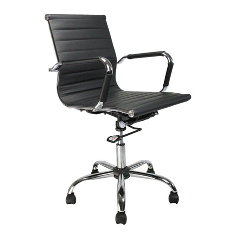 leather operator chair