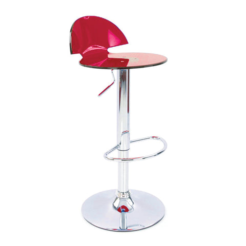 Boston Modern Translucent Bar Stool