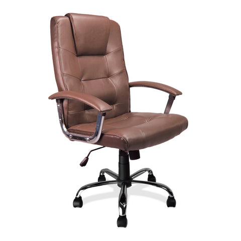 Cheap Office Chairs UK is a leading supplier of office chairs across the UK. The Westminster High Back Leather Faced Executive Chrome Base is available with free and fast delivery.