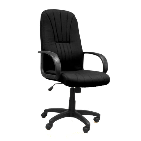Pluto High Back Executive Armchair With Sculptured Back