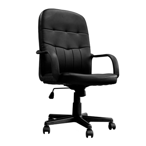 High back operator chair