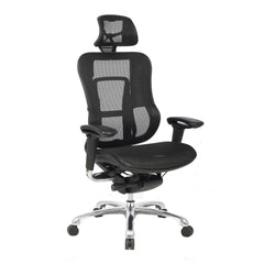 high back mesh operator chair